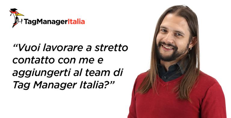 ricerca venditore per tag manager italia