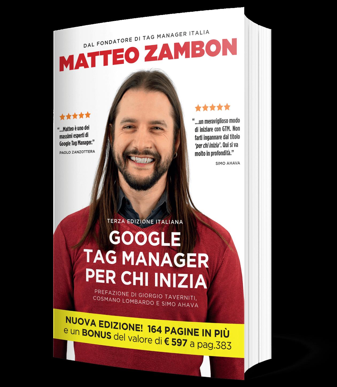 Copertina libro Google Tag Manager per chi inizia terza edizione - 2020