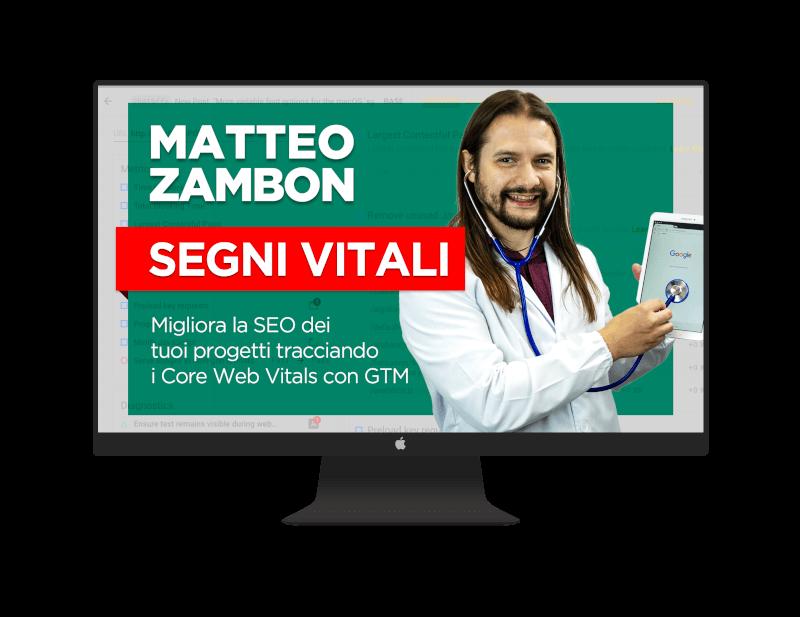 Corso Segni Vitali - Core Web Vitals e Data Studio con Google Tag Manager