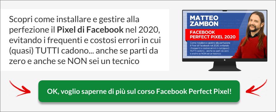 Corso Facebook Perfect Pixel