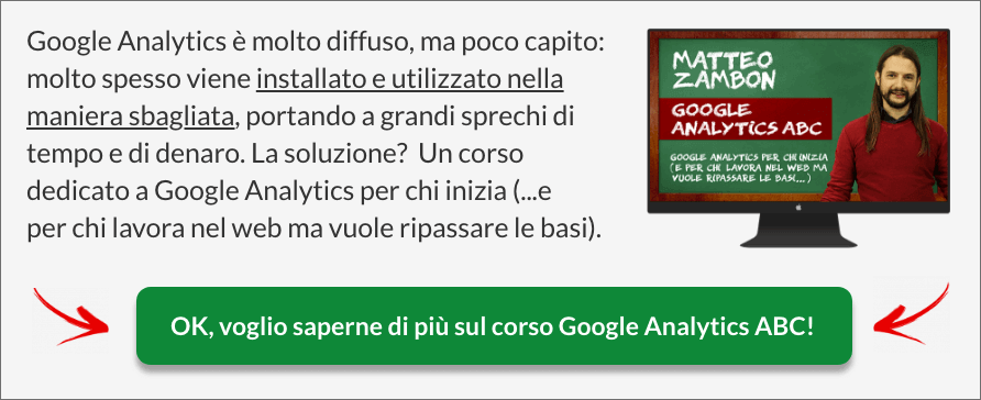 Corso Google Analytics ABC