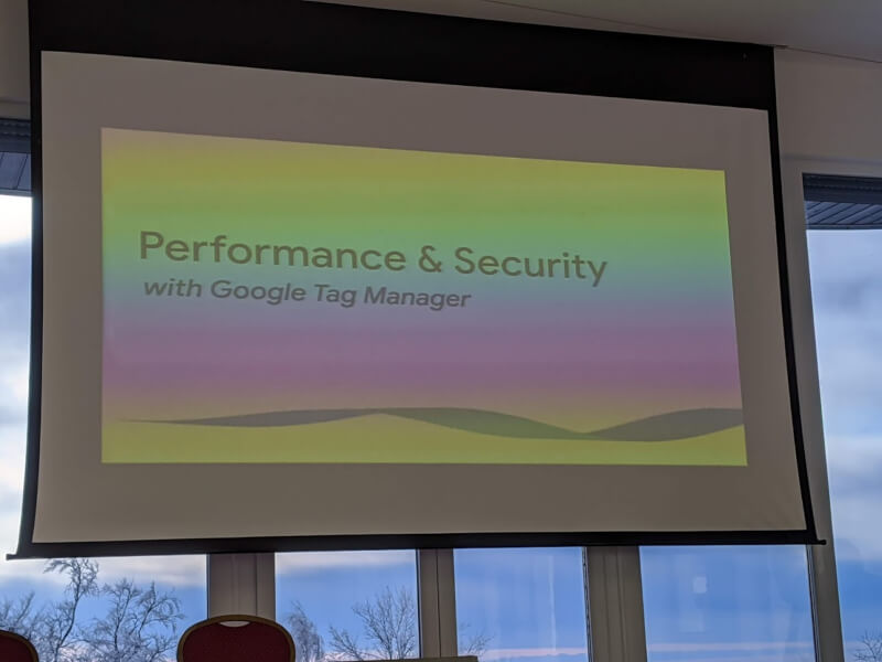 Perfomance and security with google tag manager