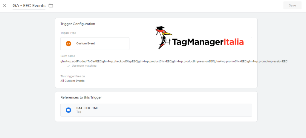GA EEC Events for Google Analytics 4 by Google Tag Manager