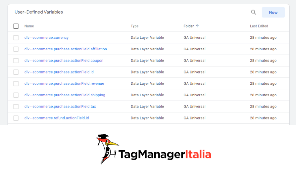 datalayer variable ecommerce for ga4 and google tag manager