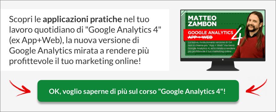 Corso Google Analytics 4