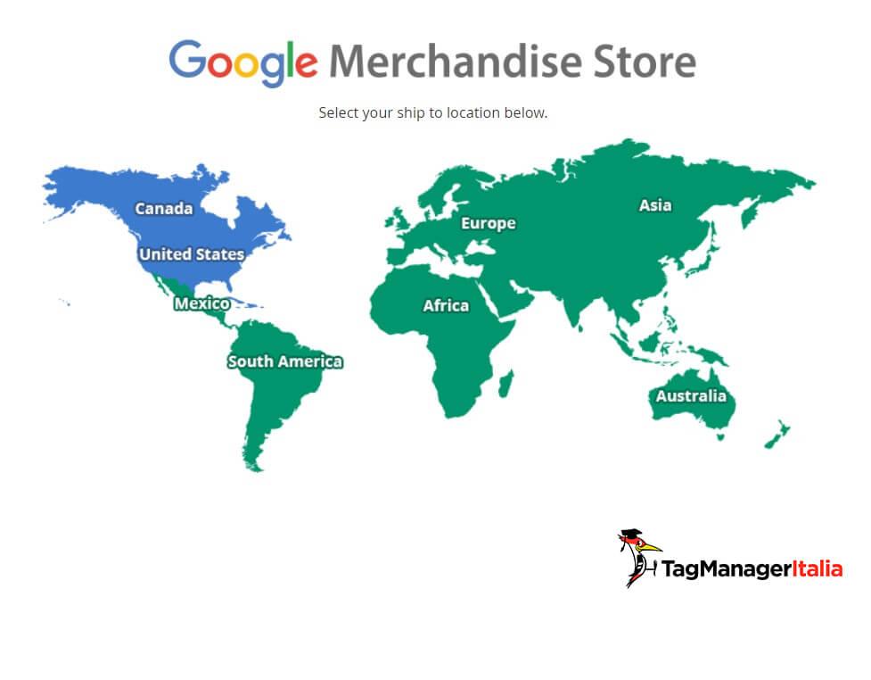 Google Merchandising Store