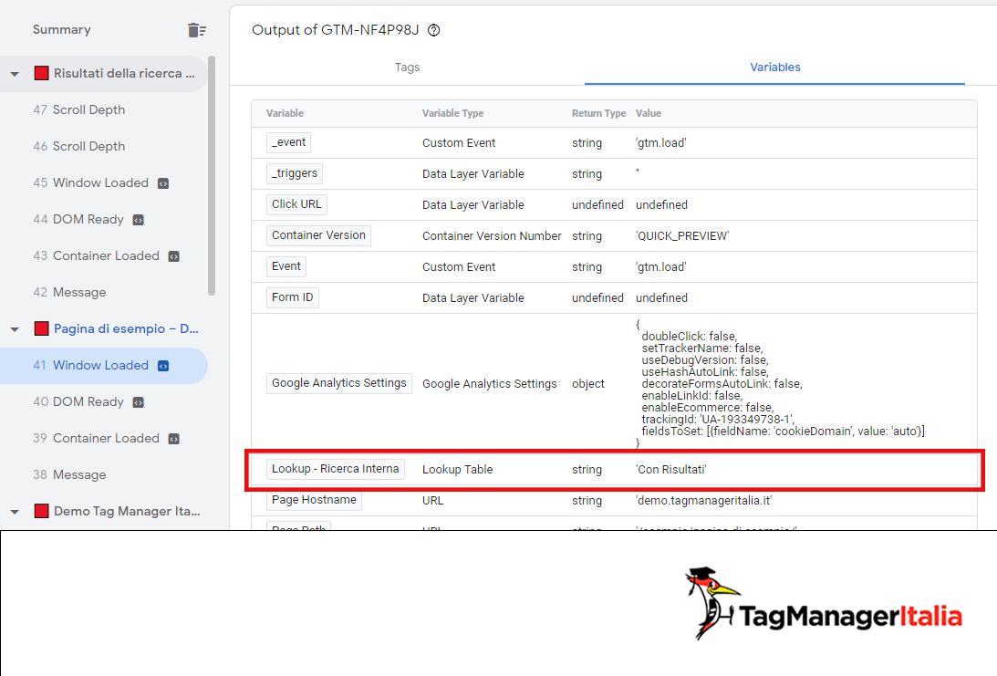 anteprima2 tracciare ricerca interna sito con risultati