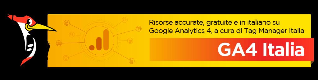 GA4 Italia - Google Analytics 4